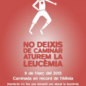 Caminada 'No deixis de caminar, aturem la leucèmia'