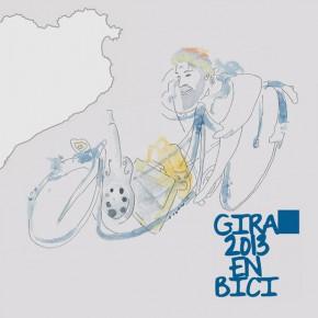 Paul Fuster, de gira per Catalunya en bicicleta