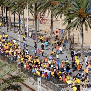 Una finestra a la Via Catalana