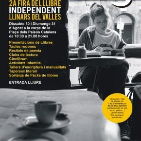 LLETRAFERITS, 2a edició de la Fira del Llibre Independent de Llinars del Vallès
