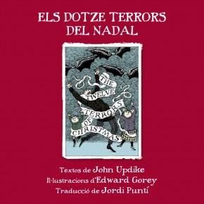 """Regalem el millor antídot per les festes... 10 exemplars d""""Els dotze terrors del Nadal"""", d'Edward Gorey"""